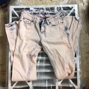 Aeropostale Acid washed Jeans size 0
